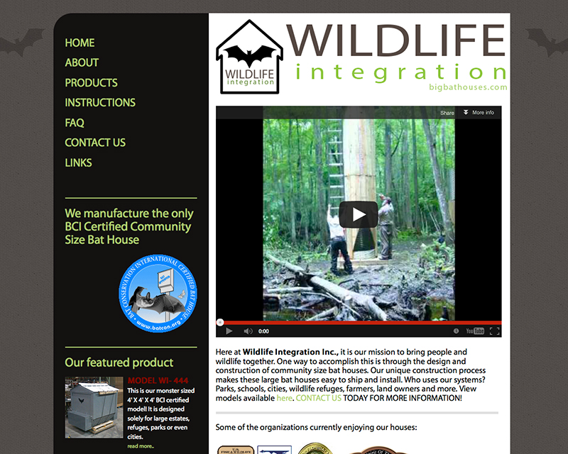 image of wildlife integration website